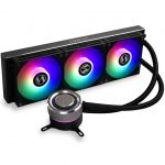 Lian-Li GALAHAD AIO360 RGB BLACK 360mm AIO CPU Liquid Cooler Triple 120mm Addressable RGB Fans Black