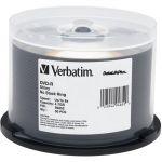 Verbatim 94852 50PK DVD-R 4.7GB 8X SHINY SILVER DATALIFEPLUS