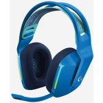 Logitech 981-000942 Lightspeed Wireless RGB Gaming Headset Binaural Uni-directional Microphone Blue