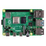 Raspberry Pi 4 Model B RPI4-MODBP-4GB 4GB DDR4 RAM BCM2711 SoC USB 3.0 PoE Enabled