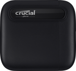 Crucial CT2000X6SSD9 X6 Portable Solid State Drive 2TB USB-C 3.2 Gen 2 Reads up to 540MBps Black