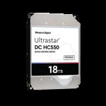 WD 0F38459 18TB 7200RPM Ultrastar HC550 3.5in 512MB SATA III 6 Gb/s Helium Enterprise Internal Hard Drive