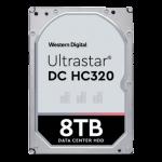 Western Digital Ultrastar DC 8TB 3.5in 7200rpm 256MB  Hard Drive