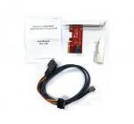 PCIe x4 to U.2 SFF-8643 Gen 3 /4 -Lane Card