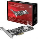 Vantec UGT-PCE430-4C Quad Chip 4-Port Dedicated5Gbps USB 3.0 PCIe Host Card