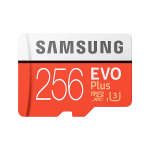 Samsung MB-MC256HA/AM 256GB EVO Plus microSDXCMemory Card Up to 100MB/s Read Up to 90MB/s Write