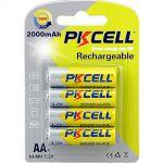 1.2V AA2000mAh NiMH Rechargeable Battery (4pcs/card)