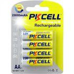 1.2V AA 2800mAh NiMH Rechargeable Battery (4pcs/NiMH Rechargeable Battery (4pcs/card)