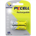 1.2V 1.2V AA600mAh  NiMH Rechargeable Battery (2pc NiMH Rechargeable Battery (2pcs/card)