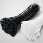 Nylon Cable Ties 5*200mm Black White each 50pc8in