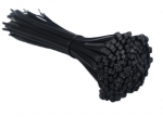 Nylon Cable Ties  5*300mm 100pcs Black 12in