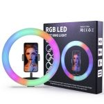 RGB Colorful Ring Live Light 12inch