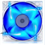 SAMA Gaming Storm 80mm LED Blue Light Chassis fan