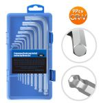9PCS Hex Key Wrench Set