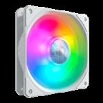 Cooler Master MFX-B2DW-18NPA-R1 SickleFlow 120 ARGB Cooling Fan 120mm 62CFM 27dBA 4-pin PWM White