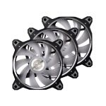 Lian-Li Bora Digital Black RGB 120mm AddressableLED PWM Fan 1800RPM 3 Pack Black