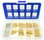 MC SCW-114PC 114 Piece Assorted M2.5 StandoffKit for Raspberry Pi and Single Boards