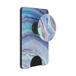 PopSockets 801567 Lilac Agate PopWallet+