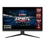MSI Optix G242 24in FHD Gaming Display Monitor 144Hz Refresh Rate 1920x1080 Resolution IPS Panel 1ms Response