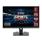 MSI Optix MAG274QRF 27in WQHD LCD Gaming Monitor2560 x 1440 IPS Panel 1ms GTG Response Time G-Sync Compatible HDR Ready