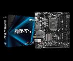 ASRock H410M-ITX/ac Mini-ITX Motherboard Intel 10th Gen Socket LGA 1200 DDR3 2933 (Max 64GB) 1x M.2 Slot USB 3.2 Gen 1