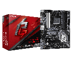 ASRock B550 PHANTOM GAMING 4/ac ATX Motherboard Ryzen 3rd Gen Socket AM4 DDR4 4733 (Max 128GB) 2x M.2 Slots HD Audio