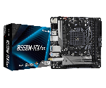 ASRock B550M-ITX/AC Mini-ITX Motherboard Ryzen 3rd Gen Socket AM4 DDR4 4733 (Max 64GB) 1x PCIe 4.0 x16 HD Audio DisplayPort
