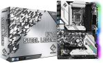ASRock H470 STEEL LEGEND ATX Motherboard Intel Socket LGA1200 10th Gen Intel CPU Supported Max 128GB DDR4 RAM  PCI Express