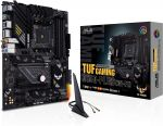 Asus TUF GAMING B550-PLUS (WI-FI) ATX Motherboard Socket AM4 AMD B550 Chipset DDR4 4800 (Max 128GB) 2x M.2 Slots