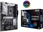 ASUS PRIME Z590-P ATX Motherboard Intel LGA 1200 10th/11th Gen CPU Max 128GB DDR4 PCI Express 4.0 3x M.2 Slots USB-C 3.2