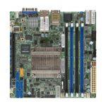 Supermicro X10SDV-8C-TLN4F-O Intel Xeon D-1540/1541/ DDR4/ SATA3&USB3.0/ V&2GbE/ Mini-ITX Motherboard & CPU Combo