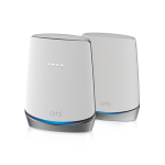 Netgear CBK752-100NAS Orbi WiFi 6 Mesh WiFi System with Built-in Cable Modem