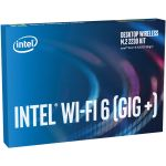 Intel AX200.NGWG.DTK Desktop Wireless M.2 2230 Kit Intel Wi-Fi 6 AX200 Gig+ with Bluetooth 5 and WPA3
