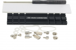 MC NGFFM2-HS-KIT M.2 NVME SSD Installation Kitwith Low-Profile Heat Sink and Mounting Screws Black