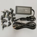 65W Universal Laptop Adapter with 10 DC Tips