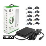 90W Slim Universal Laptop Adapter with 10 DC Tips