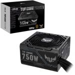 Asus TUF GAMING 750B Power Supply 80 Plus BronzeRated 135mm Cooling Fan Slim-Fit Sleeved Cables Black