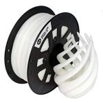 3D Filament PLA 1.75mm (1Kg /2.2 Lbs) White
