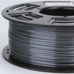 3D Filament PLA 1.75mm (1Kg /2.2 Lbs)Light silver