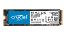 Crucial CT1000P2SSD8 P2 1TB NVMe PCIe M.2Solid State Drive Max Read 2400MB/s