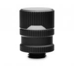 EKWB EK-Quantum Torque Drain Valve G1/4in Threading 4.5mm Thread Length 23mm Diameter 29mm Installed Height Black
