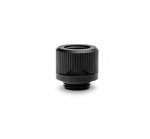 EKWB EK-Quantum Torque HDC 12 Fitting G1/4in BSP 4.5mm Male Thread Length Supports 12mm Solid Tubing Black