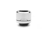 EKWB EK-Quantum Torque HDC 12 Fitting G1/4in BSP 4.5mm Male Thread Length Supports 12mm Solid Tubing Nickel