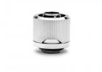 EKWB EK-Quantum Torque STC-10/16 Fitting G1/4in BSPP 4.5mm Male Thread Length Supports 10/16mm Soft Tubing Nickel