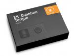 EKWB EK-Quantum Torque 6-Pack STC 10/16 FittingsG1/4in BSPP 4.5mm Male Thread Length Supports 10/16mm Soft Tubing Black