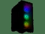 Lian-Li LANCOOL II MESH RGB -X ATX Case 3x ARGB 120mm 1300rpm 3-pin Fans 1x TRRS Audio 2x USB 3.0 1x USB-C 3.1 Black