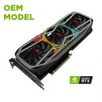 PNY GMR3070N4J8GT3CKTP GeForce RTX 3070 8 GB GDDR6 Triple Fan Graphic Card, OEM, Card Only