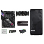 Images of PC hardware for the AMD ATX custom PC build