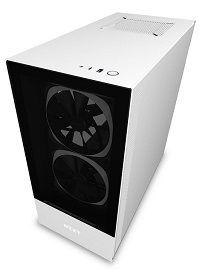 Nzxt H510 Elite Ca H510e W1 Matte White Premium Compact Mid Tower Atx Case