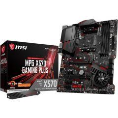 MSI MPG X570 GAMING PLUS Motherboard ATX SocketAM4 DDR4 (Max 128GB) Realtek 7.1 Audio 2x M.2 Slots 6x SATA 6Gbps